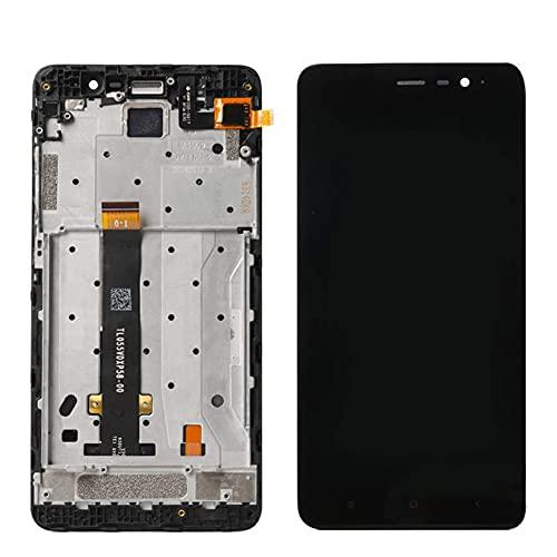 GYYCV Schermo LCD da 152 mm Fit for Xiaomi Redmi Note 3 PRO Display LCD Touch Screen con Parti di Ricambio per Schermo Rotto(Color:Black No Frame)
