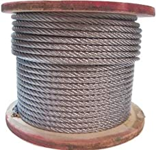galvanized steel cable 3/8