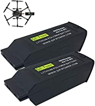 2-Pack Replacement Battery for YUNEEC Typhoon H Drone, 8050mAh 4S 14.8V LiPO Battery for Typhoon H