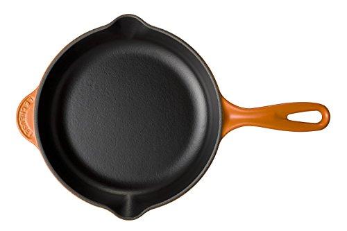 ル・クルーゼ(LeCreuset)鋳物ホーロー鍋スキレット20cmオレンジガスIHオーブン対応【日本正規販売品】