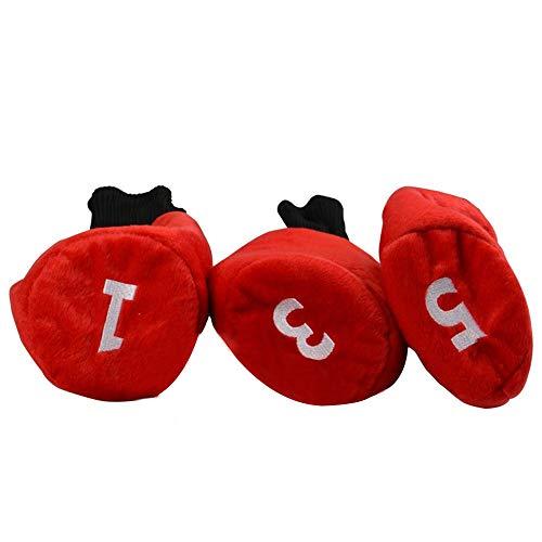 Couvertures de tête de putter de golf Housse de protection en bois pour golf Golf Putter Headcover...