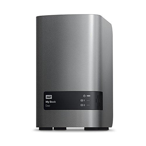 WD 16TB My Book Duo Desktop RAID External Hard Drive - USB 3.0 - WDBLWE0160JCH-NESN