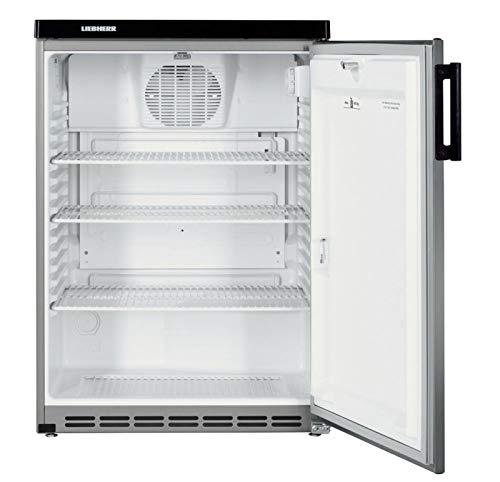 Liebherr fkvesf 1805autonome Silber Kühlschrank Getränkespender–Kühlschränke Getränkespender (autonome, silber, 4Einlegeböden, rechts, 180l, SN)