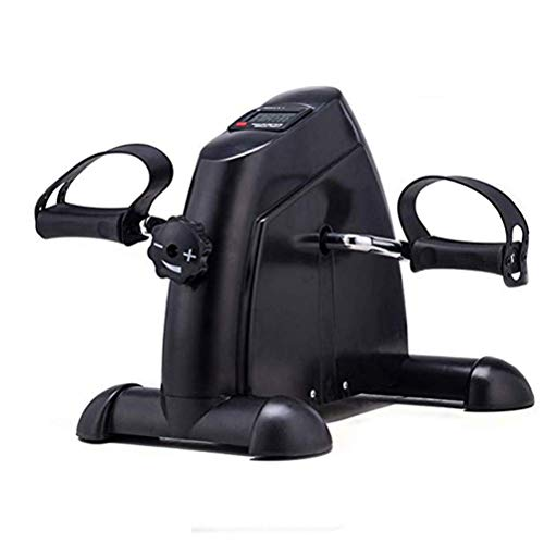 Affordable Nuokix Mini Exercise Bike Pedal Exerciser Arm and Leg Cycle Exercise Bike Adjustable Resi...