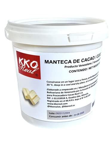 KKO REAL - Manteca de Cacao Natural y pura 100%