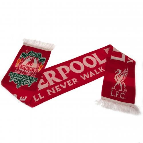 Liverpool FC. Gestrickt Schal