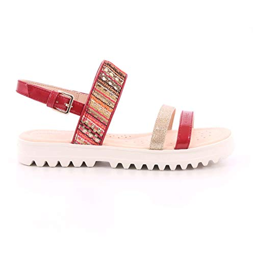 Zapatos de niña GEOX J S.Coralie G. F en Charol Fucsia J926EF-0DSHI-C8238