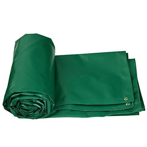 LIUPENGWEI Heavy Duty Waterdichte Lightweight Tarpaulin Tarp Ground Voorblad Camping Tent Tuinmeubilair Covers zeildoekzak (Color : Green, Size : 4x3M)