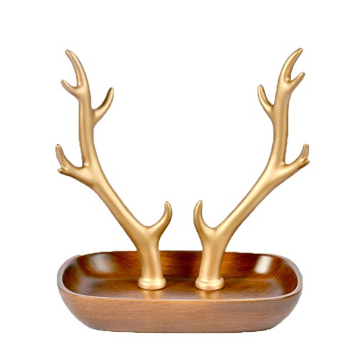 GAOYINMEI Sculpture de bureau en résine pour salon, entrée, meuble à chaussures, boîte de rangement, décoration de la maison (taille : petite)