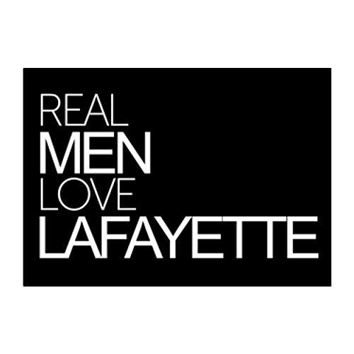 Teeburon Real Men Love Lafayette Bold Sticker Pack x4 6'x4'