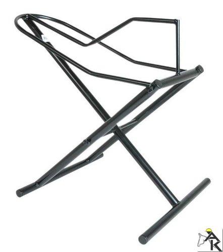 AMKA Sattelständer mobil Sattelhalter Sattelständer flexibel schwarz 056/113