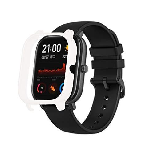 Mypace2 Xiaomi Huami Amazfit GTS Smartwatch Schutzrahmen TPU Ultra dünn Flexibel Gehäusedeckel Kratzfest Uhrengehäuse Shell Schutz Stoßstange Kompatibel mit Xiaomi Huami Amazfit GTS Watch