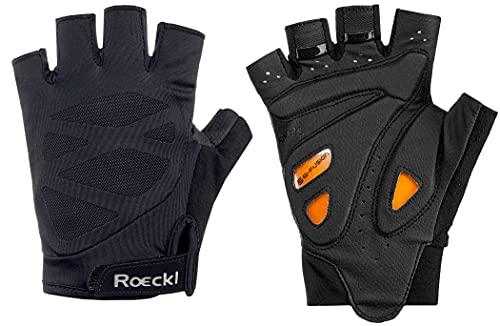 Roeckl Iton Fahrrad Handschuhe kurz schwarz 2022: Größe: 8