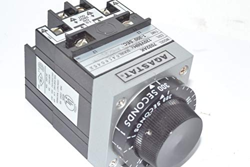AGASTAT 7022AK Relay, TIME DELAY, 1-300SECONDS, 120VAC, 60HZ