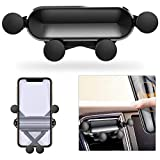 Car Phone Mount,Automatic Locking Universal Air Vent Phone Holder for Smart Phone,Cell Phone Holder for Car Compatible with iPhone 11/11 Pro/XS/XS Max/8/7/6, Samsung, Google, One Plus and More