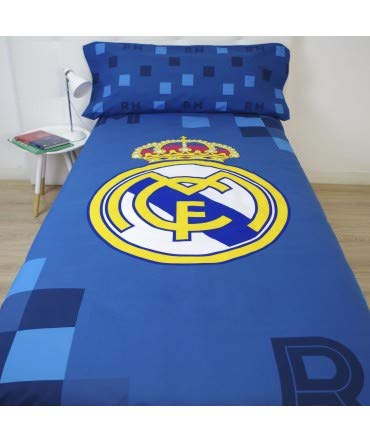 10XDIEZ Funda NÓRDICA Real Madrid 181041 - Medidas Cama - Cama de 90cm
