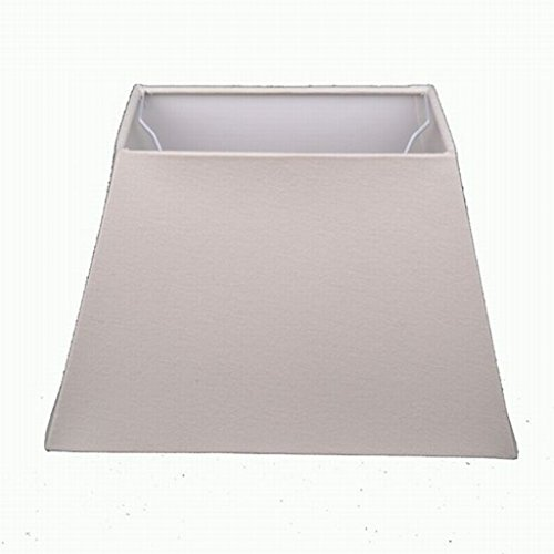 Lampenschirm Rechteckig Cotton Creme TL 30-20-20
