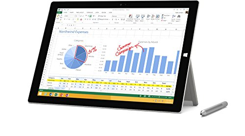 Microsoft Surface Pro 3 MQ2-00001 12-Inch Full HD 128 GB Storage...