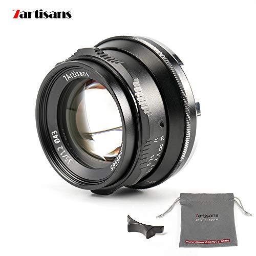 7artisans- Lente de aluminio APS-C de gran apertura F1.2 de 35 mm para cámaras sin espejo Sony E Mount A6500 A6300 A6100 A6000 A5100 A5000 A9 NEX 3 NEX 3N NEX 5 NEX 5T NEX 5R NEX 6 7