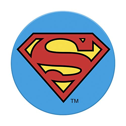 PopSockets Ausziehbarer Sockel und Griff fur Smartphones und Tablets Superman Icon