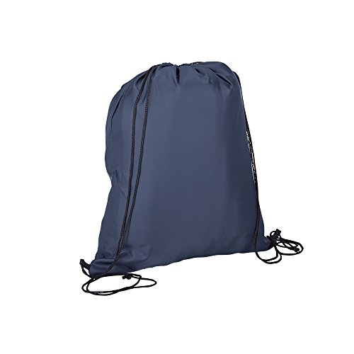 Sackpack | Navy | Non Branded | Best Cinch/Drawstring/BackPack | Washable | Best For Gym, Beach, Yoga, Tote, Laundry, Dance, Sports, Sling Carry Bag | Keep & Refund Promise