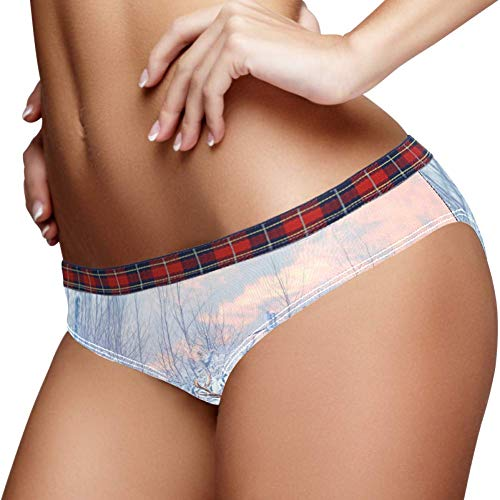 TIZORAX Beauty Snowland Rendier Vrouwen Ondergoed Bikini Mode Dames Korte Broek