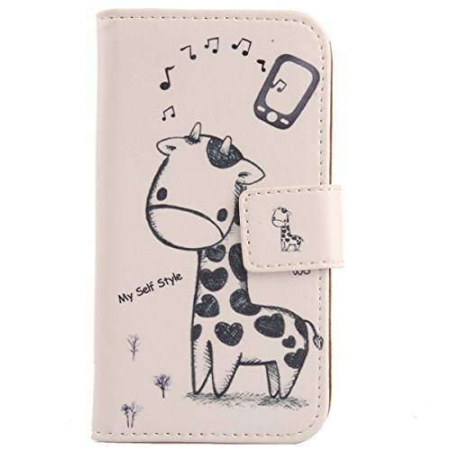 Lankashi PU Flip Leder Tasche Hülle Hülle Cover Schutz Handy Etui Skin Für Archos 50e Helium 5