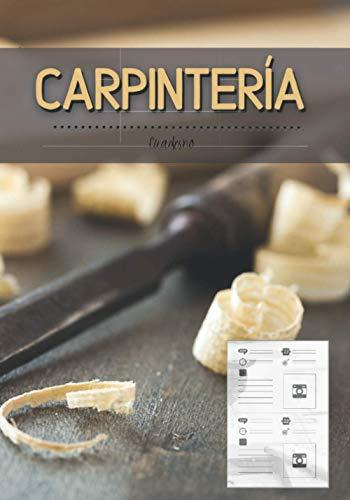 carpinteria: Cuaderno para amantes de la madera