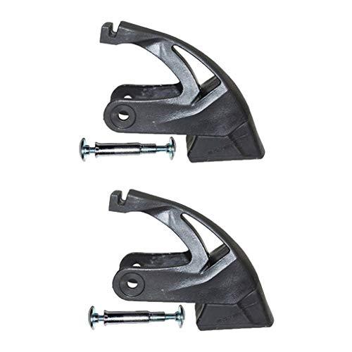Harilla 2Pack Universal Rollschuh Bremsbeläge, Inline Skates Bremsen Blockieren rutschfest Inlineskates-Bremse Inliner Stopper