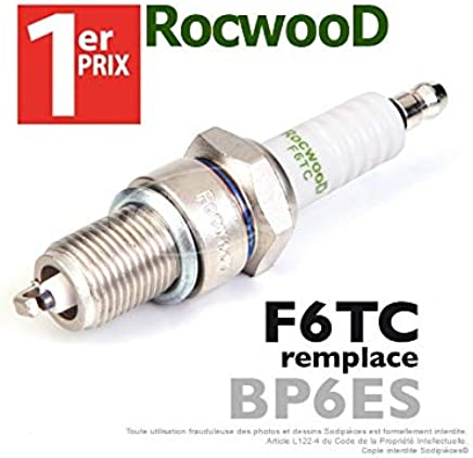Bougie type BP6ES 1er Prix Rocwood F6TC