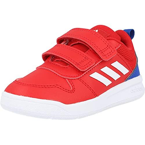 adidas TENSAUR I, Zapatillas de Running, Escarl/FTWBLA/AZUREA, 26 EU