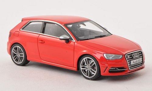 Audi S3, rot , 2013, Modellauto, Fertigmodell, Minichamps 1:43