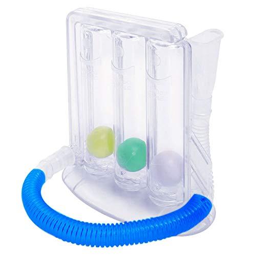 Athemeet Atemtrainer,Lungentrainer,Lungenfunktionstest gerät für Logopädie Therapie Ergotherapie Lungentraining Lungentrainer Atemtraining
