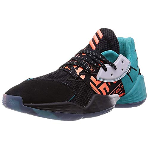 adidas Performance Harden Vol. 4 GCA - Zapatillas de baloncesto para hombre, color turquesa/negro, talla 14,5 UK - 50 2/3 EU - 15 US