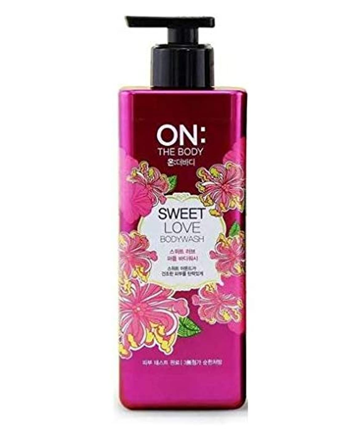 分子引き受ける接触ON THE BODY Sweet Love Body Wash 500g/17.6oz