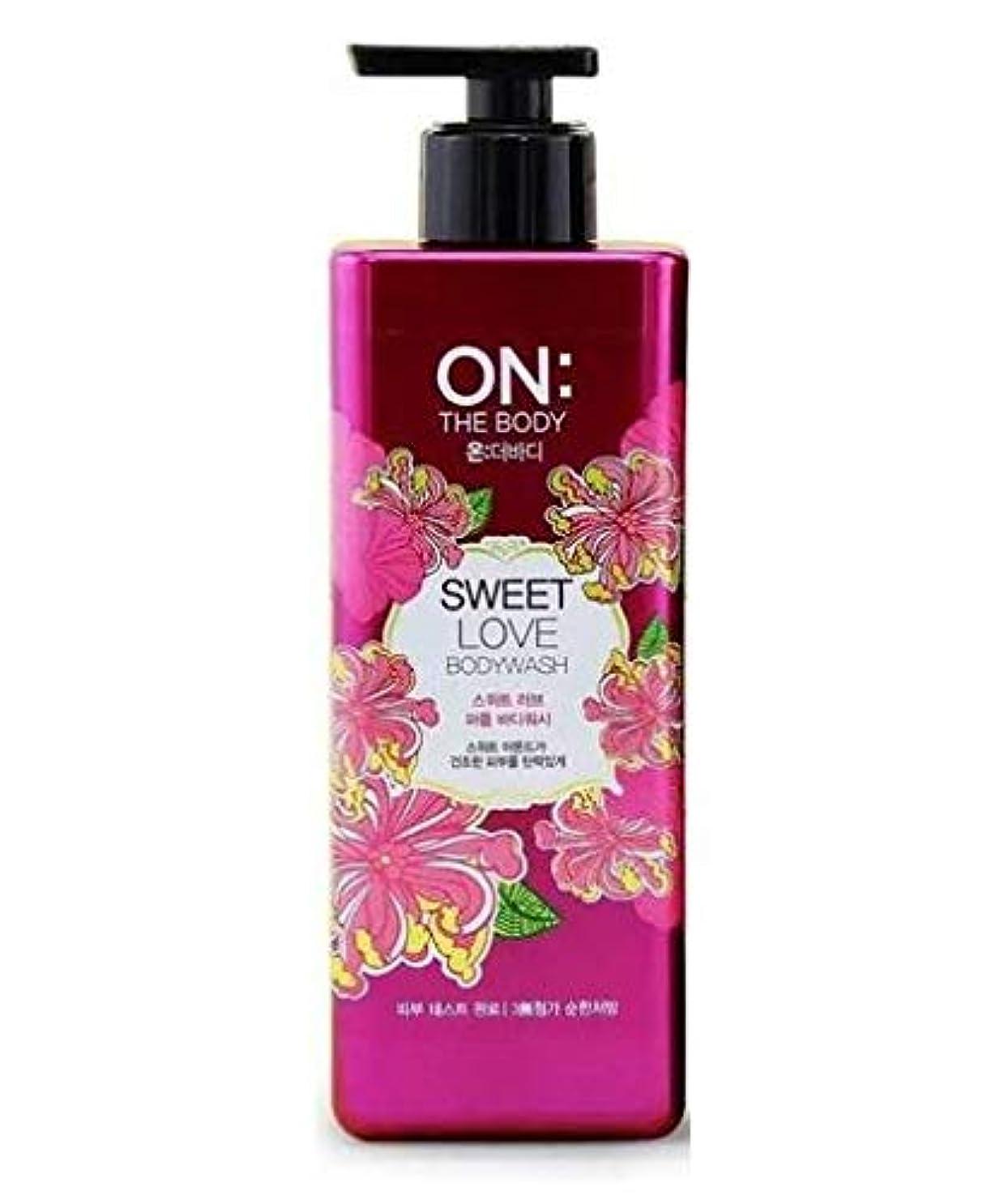 置くためにパック垂直正しくON THE BODY Sweet Love Body Wash 500g/17.6oz
