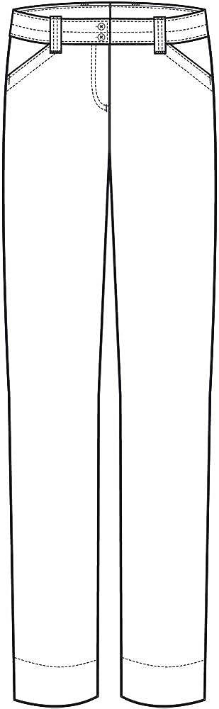 GREIFF-Pantalon Chino pour Femme de Style Casual anzughose 3321 Bleu - Marine