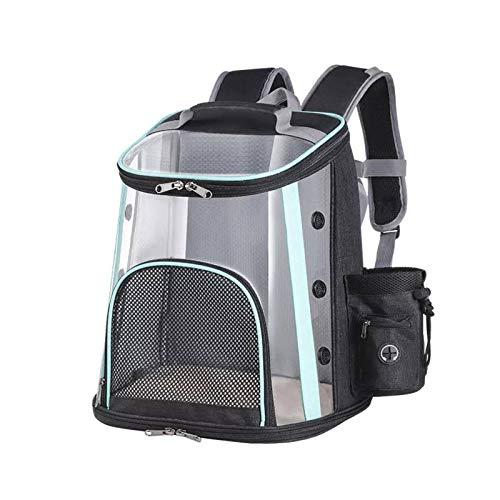 機内持ち込み手荷物透明メッシュ通気性バックパック猫と犬のバックパックペット小動物輸送チャット