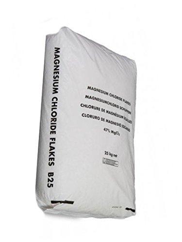 25 kg Magnesiumchlorid Hexahydrat MgCl2 aus dem Zechsteinmeer