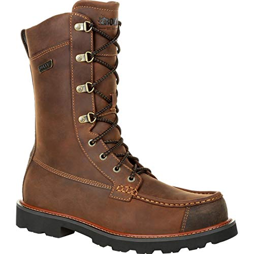 Rocky Upland Waterproof Outdoor Boot - Web Exclusive Size 11(W) Brown