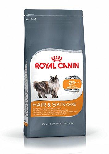 Royal Canin - Care Nutrition - Hair & Skin Care Katzenfutter für seidig glänzendes Fell und gesunde Haut. 400g