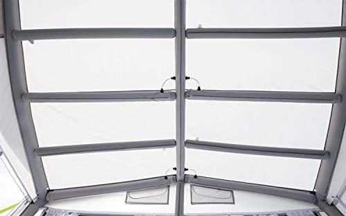 BERGER Stabilitätsset für Reisevorzelt Sirmione-L 4m Deluxe Zusatzgestänge Camping Vorzelt Gestänge