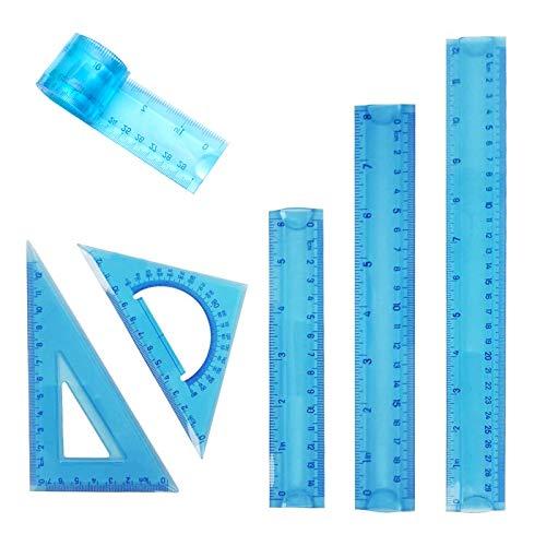Reglas Escolares 30 Cm Flexible Marca EQLEF