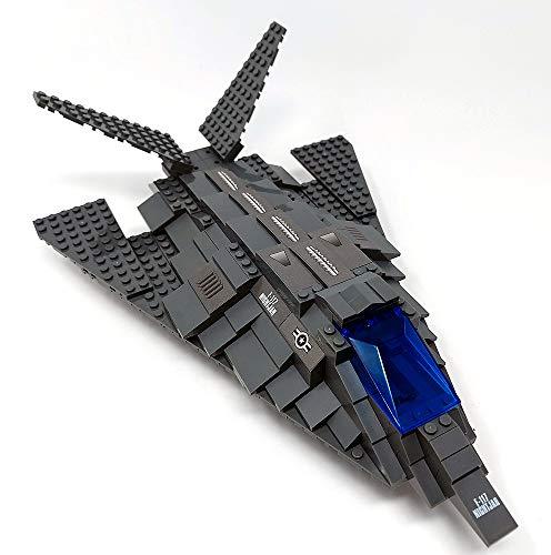Modbrix Avión B-2 Stealth Bomber juguete de construcción con 259 piezas