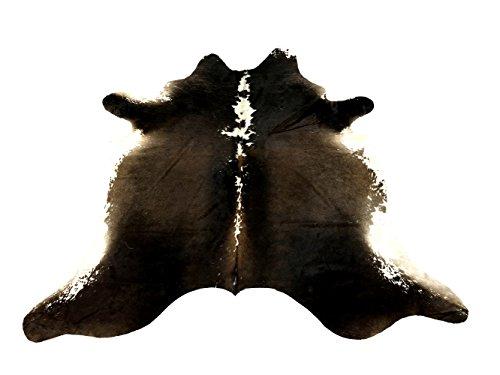 Zerimar Alfombra Piel de Vaca Natural | Medidas: 140x150 cm | Alfombra Salón | Alfombra Decoracion | Alfombra Dormitorio | Alfombra Natural