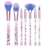 Lime Crime Aquarium Makeup Brush, 7-Piece Set, 283 g,Green,816652020934