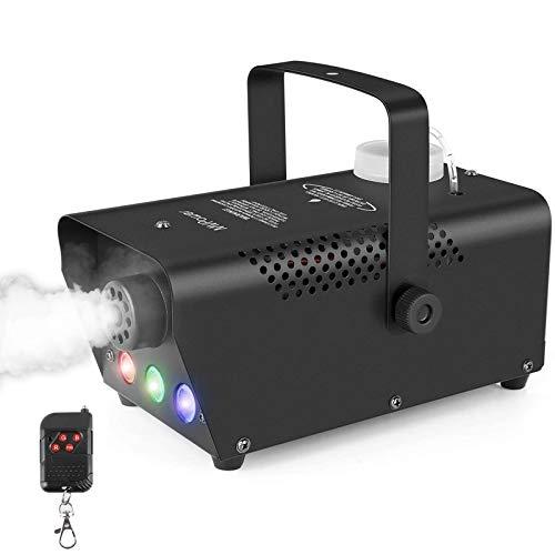 MVPOWER Mini Nebelmaschine 500W mit LED