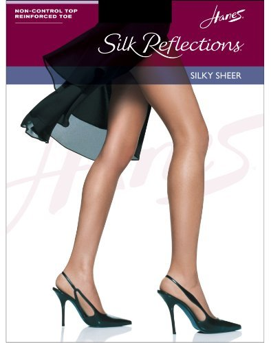 Hanes Silk Reflections Women's Panty Hose,Barely There,A/B
