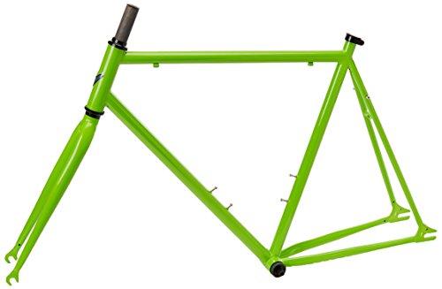 Vilano Chromoly Fixed Gear Track Road Bike Frame and Fork Set, Green, 58cm/Medium