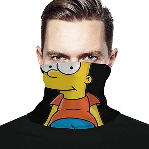Best-design Simpson - Pañuelo facial para correr al aire libre, para mujer, hombre, con variedad de cara, toalla para el cuello, diadema